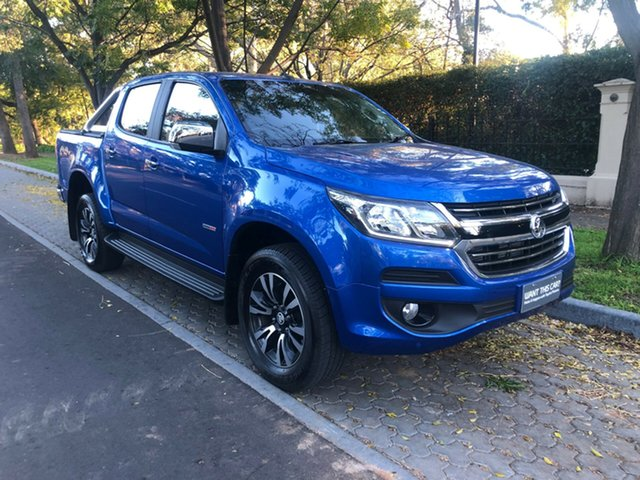 Used Holden Colorado RG MY19 LTZ Pickup Crew Cab, 2018 Holden Colorado RG MY19 LTZ Pickup Crew Cab Blue 6 Speed Sports Automatic Utility