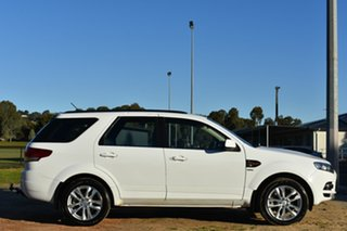2014 Ford Territory SZ TS Seq Sport Shift AWD White 6 Speed Sports Automatic Wagon.