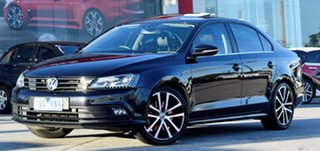 2015 Volkswagen Jetta 1B MY16 155TSI DSG Highline Sport Black 6 Speed Sports Automatic Dual Clutch.