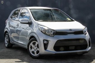 2019 Kia Picanto JA MY19 S Sparkling Silver 4 Speed Automatic Hatchback.
