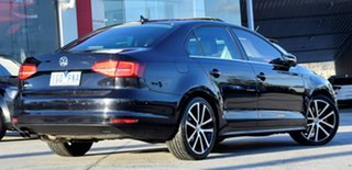 2015 Volkswagen Jetta 1B MY16 155TSI DSG Highline Sport Black 6 Speed Sports Automatic Dual Clutch