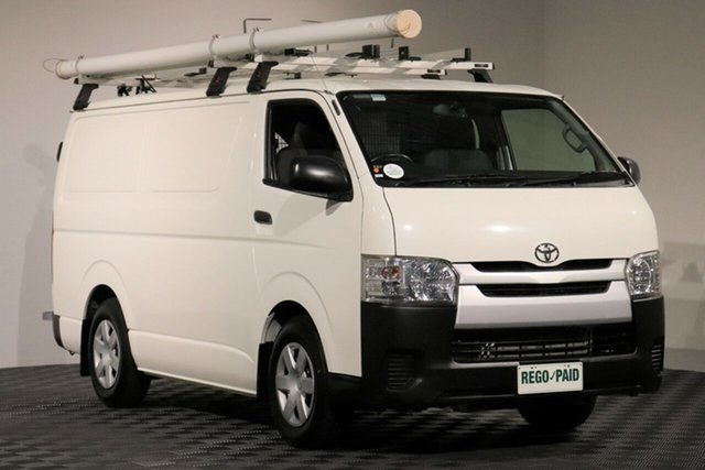 Used Toyota HiAce KDH201R LWB, 2015 Toyota HiAce KDH201R LWB French Vanilla 5 Speed Manual Van