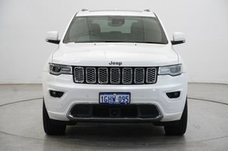 2017 Jeep Grand Cherokee WK MY17 Overland Pearl White 8 Speed Sports Automatic Wagon.