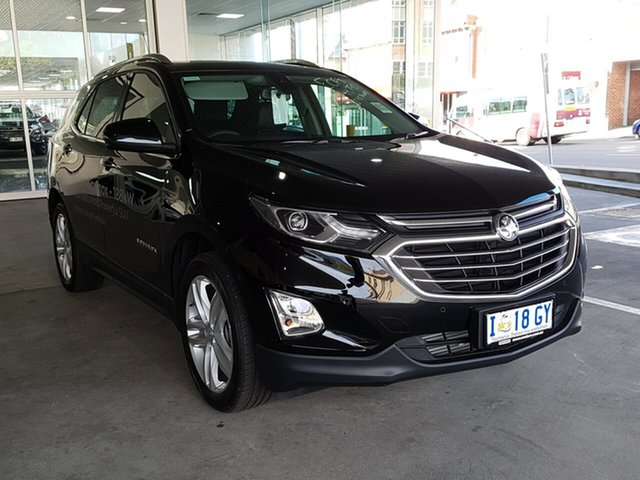Demo Holden Equinox EQ MY18 LTZ AWD, 2018 Holden Equinox EQ MY18 LTZ AWD Mineral Black 9 Speed Sports Automatic Wagon