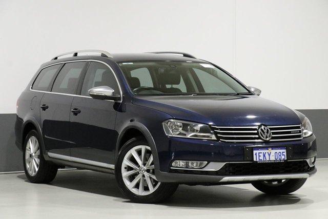 Used Volkswagen Passat 3C MY14 Alltrack, 2014 Volkswagen Passat 3C MY14 Alltrack Blue 6 Speed Direct Shift Wagon