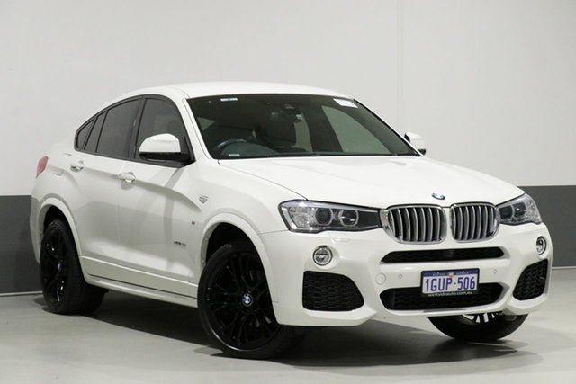 Used BMW X4 F26 MY16 xDrive 35I, 2017 BMW X4 F26 MY16 xDrive 35I White 8 Speed Automatic Coupe