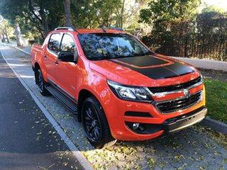2018 Holden Colorado RG MY19 Z71 Pickup Crew Cab Orange 6 Speed Sports Automatic Utility.