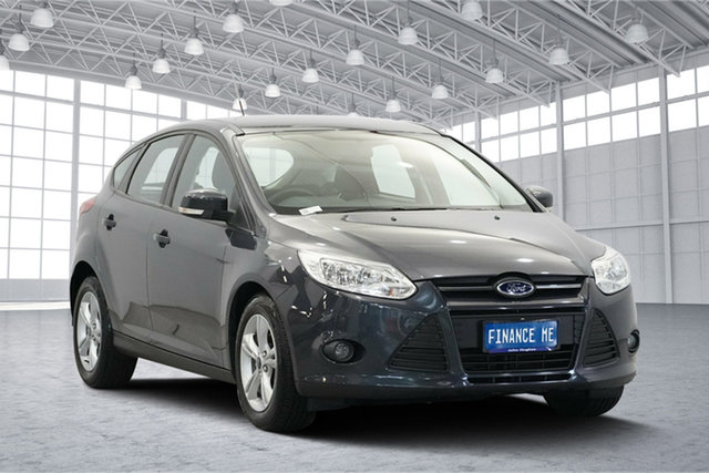 Used Ford Focus LW MkII Trend PwrShift, 2012 Ford Focus LW MkII Trend PwrShift Midnight Blue 6 Speed Sports Automatic Dual Clutch Hatchback