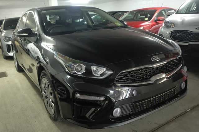 New Kia Cerato BD MY19 S, 2019 Kia Cerato BD MY19 S Aurora Black Pearl 6 Speed Sports Automatic Hatchback