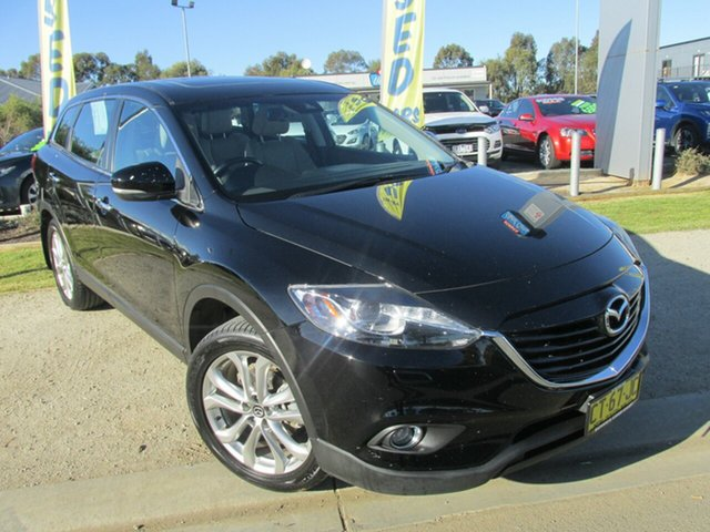 Used Mazda CX-9 TB10A5 Grand Touring Activematic AWD, 2013 Mazda CX-9 TB10A5 Grand Touring Activematic AWD Black 6 Speed Sports Automatic Wagon