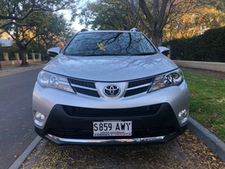 2013 Toyota RAV4 ZSA42R GXL 2WD Silver 7 Speed Constant Variable Wagon.