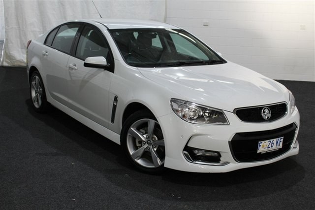 Used Holden Commodore VF II MY16 SV6, 2016 Holden Commodore VF II MY16 SV6 Heron White 6 Speed Sports Automatic Sedan