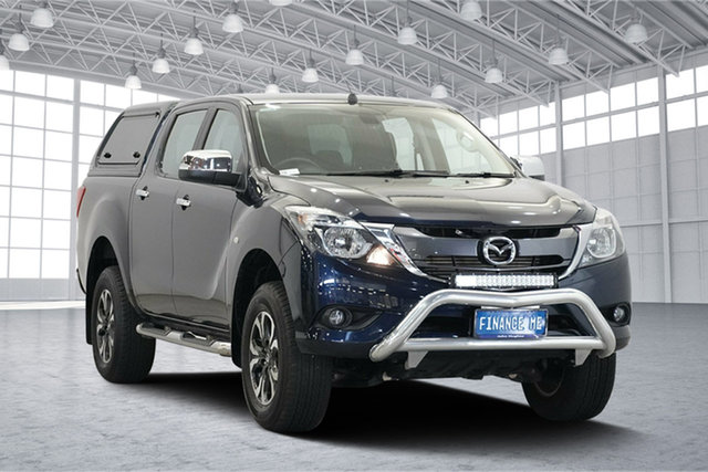 Used Mazda BT-50 UR0YG1 XTR, 2017 Mazda BT-50 UR0YG1 XTR Blue 6 Speed Sports Automatic Utility