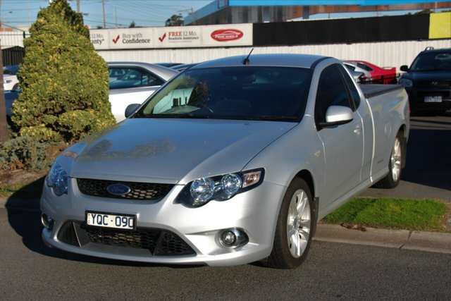 Used Ford Falcon FG XR6 Ute Super Cab, 2011 Ford Falcon FG XR6 Ute Super Cab Silver 6 Speed Sports Automatic Utility