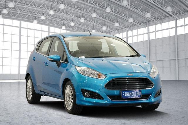 Used Ford Fiesta WZ Sport, 2013 Ford Fiesta WZ Sport Celestial Blue 5 Speed Manual Hatchback