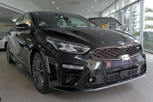 New Kia Cerato BD MY19 GT DCT, 2019 Kia Cerato BD MY19 GT DCT Aurora Black Pearl 7 Speed Sports Automatic Dual Clutch Hatchback