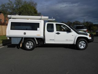 2010 Holden Colorado RC MY10 LX (4x4) White 5 Speed Manual Space Cab Chassis