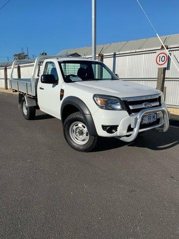 Used Ford Ranger PK XL 4x2 Hi-Rider, 2011 Ford Ranger PK XL 4x2 Hi-Rider White 5 Speed Manual Cab Chassis