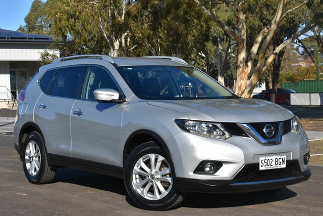 Used Nissan X-Trail T32 ST-L X-tronic 2WD, 2014 Nissan X-Trail T32 ST-L X-tronic 2WD Silver 7 Speed Constant Variable Wagon