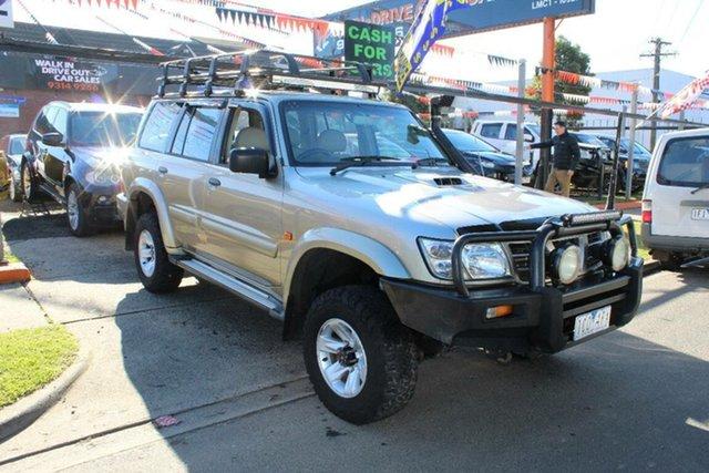 Used Nissan Patrol GU III ST-L (4x4), 2004 Nissan Patrol GU III ST-L (4x4) Gold 4 Speed Automatic Wagon