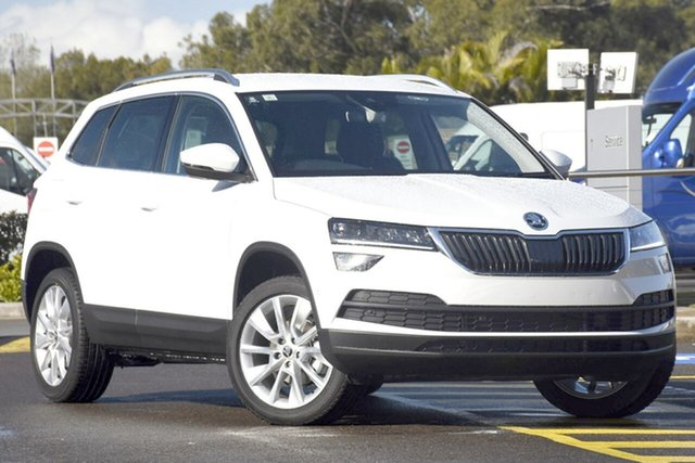 New Skoda Karoq NU MY20.5 110TSI FWD, 2020 Skoda Karoq NU MY20.5 110TSI FWD Candy White 8 Speed Automatic Wagon