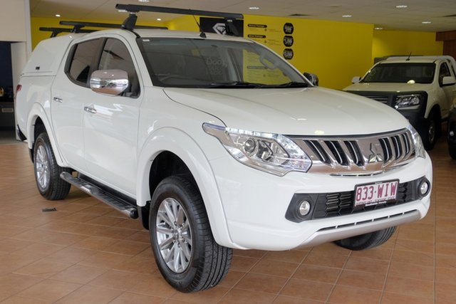 Used Mitsubishi Triton MQ MY16 GLS Double Cab, 2016 Mitsubishi Triton MQ MY16 GLS Double Cab White 6 Speed Manual Utility