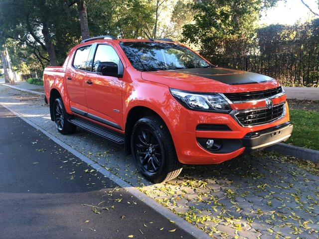 Used Holden Colorado RG MY19 Z71 Pickup Crew Cab, 2018 Holden Colorado RG MY19 Z71 Pickup Crew Cab Orange 6 Speed Sports Automatic Utility
