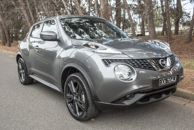 Demo Nissan Juke F15 Series 2 Ti-S X-tronic AWD, 2018 Nissan Juke F15 Series 2 Ti-S X-tronic AWD Gun Metallic 1 Speed Constant Variable Hatchback