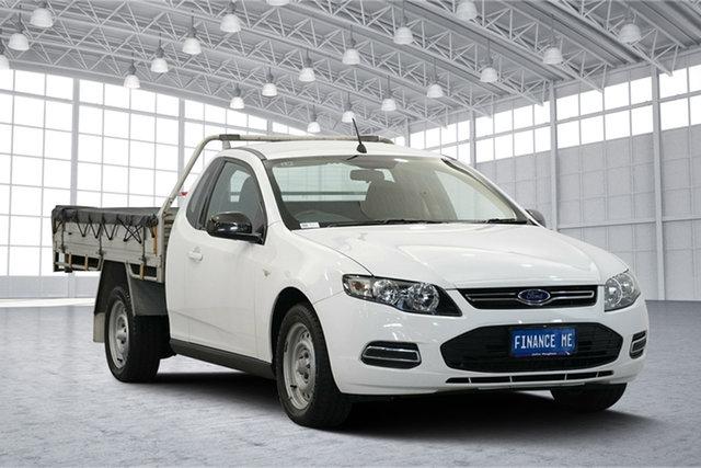 Used Ford Falcon FG MkII Super Cab, 2014 Ford Falcon FG MkII Super Cab White 6 Speed Automatic Cab Chassis