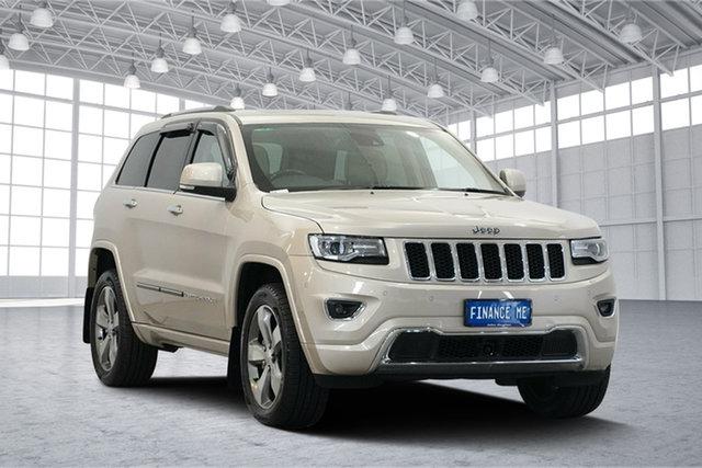 Used Jeep Grand Cherokee WK MY15 Overland, 2016 Jeep Grand Cherokee WK MY15 Overland Cashmere Pearl 8 Speed Sports Automatic Wagon