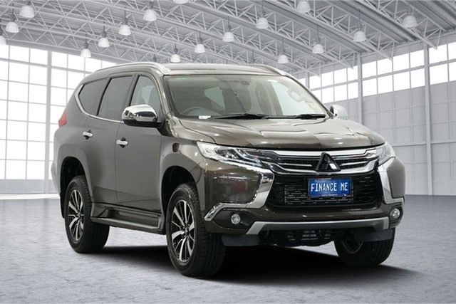 Used Mitsubishi Pajero Sport QE MY18 GLS, 2018 Mitsubishi Pajero Sport QE MY18 GLS Brown 8 Speed Sports Automatic Wagon