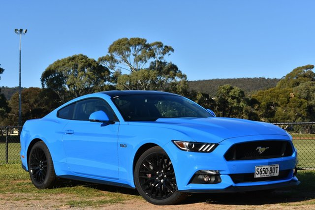 Used Ford Mustang FM 2017MY GT Fastback SelectShift, 2017 Ford Mustang FM 2017MY GT Fastback SelectShift Blue 6 Speed Sports Automatic Fastback