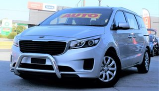 2016 Kia Carnival YP MY16 S Silver 6 Speed Sports Automatic Wagon.