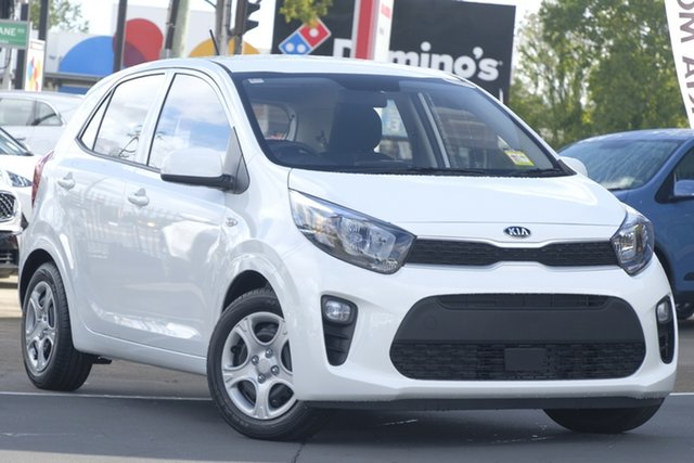 Used Kia Picanto JA MY19 S, 2019 Kia Picanto JA MY19 S Clear White 5 Speed Manual Hatchback
