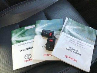 2015 Toyota Kluger GSU50R GXL 2WD Silver 6 Speed Sports Automatic Wagon