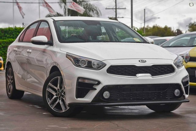 New Kia Cerato BD MY19 Sport, 2018 Kia Cerato BD MY19 Sport Clear White 6 Speed Sports Automatic Sedan