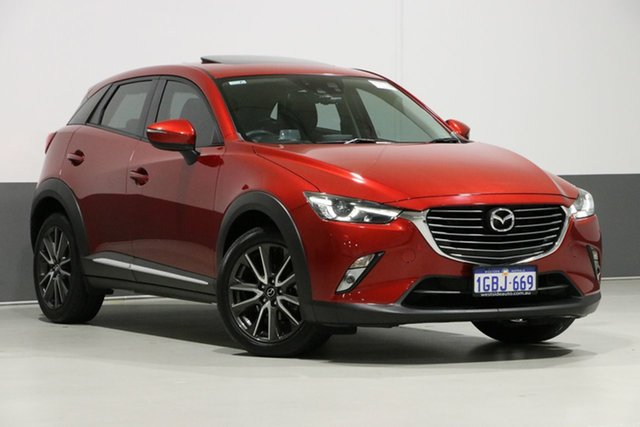 Used Mazda CX-3 DK Akari (FWD), 2016 Mazda CX-3 DK Akari (FWD) Red 6 Speed Automatic Wagon