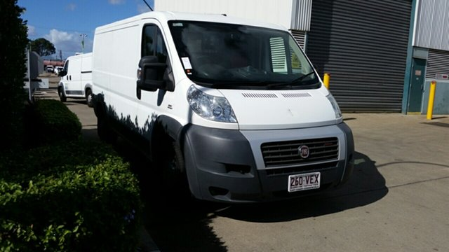 Used Fiat Ducato Series II MY12 Low Roof MWB MTA, 2014 Fiat Ducato Series II MY12 Low Roof MWB MTA White 6 Speed Sports Automatic Single Clutch Van