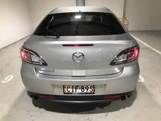 2012 Mazda 6 GH1052 MY12 Touring Silver 5 Speed Sports Automatic Hatchback