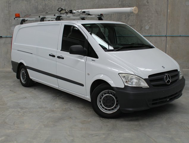 Used Mercedes-Benz Vito 639 MY11 113CDI LWB, 2013 Mercedes-Benz Vito 639 MY11 113CDI LWB White 5 Speed Automatic Van