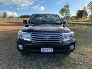 2015 Toyota Landcruiser VDJ200R MY13 Sahara (4x4) Ebony 6 Speed Automatic Wagon.