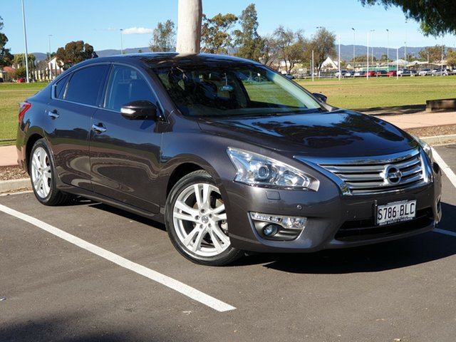 Used Nissan Altima L33 Ti X-tronic, 2013 Nissan Altima L33 Ti X-tronic Grey 1 Speed Constant Variable Sedan