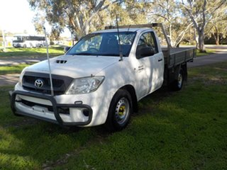 2008 Toyota Hilux KUN16R MY08 SR 4x2 5 Speed Manual Cab Chassis