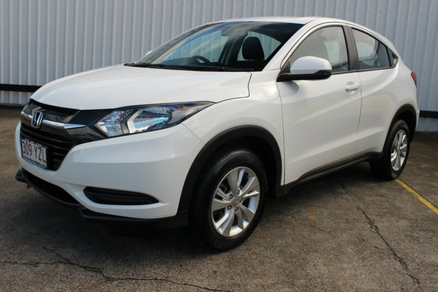 Used Honda HR-V MY15 VTi, 2015 Honda HR-V MY15 VTi White 1 Speed Constant Variable Hatchback