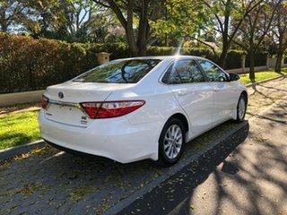 2015 Toyota Camry AVV50R Hybrid H White 1 Speed Constant Variable Sedan Hybrid.