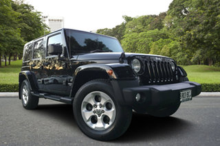 2013 Jeep Wrangler JK MY2014 Unlimited Overland Black 5 Speed Automatic Hardtop.