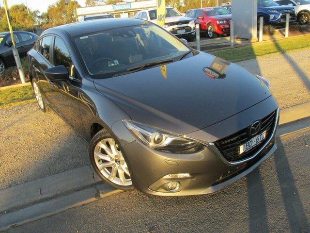 Used Mazda 3 BM5238 SP25 SKYACTIV-Drive Astina, 2014 Mazda 3 BM5238 SP25 SKYACTIV-Drive Astina Grey 6 Speed Sports Automatic Sedan