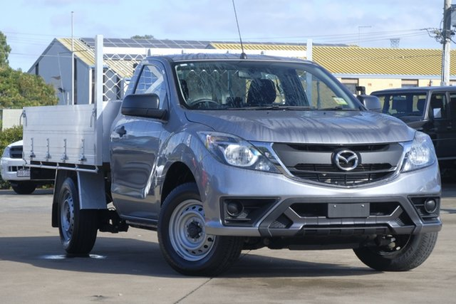 Used Mazda BT-50 UR0YE1 XT 4x2, 2017 Mazda BT-50 UR0YE1 XT 4x2 Grey 6 Speed Manual Cab Chassis