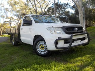 2008 Toyota Hilux KUN16R MY08 SR 4x2 5 Speed Manual Cab Chassis.