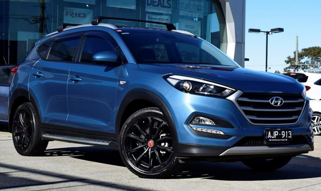 Used Hyundai Tucson TL MY17 30 D-CT AWD Special Edition, 2016 Hyundai Tucson TL MY17 30 D-CT AWD Special Edition Blue 7 Speed Sports Automatic Dual Clutch
